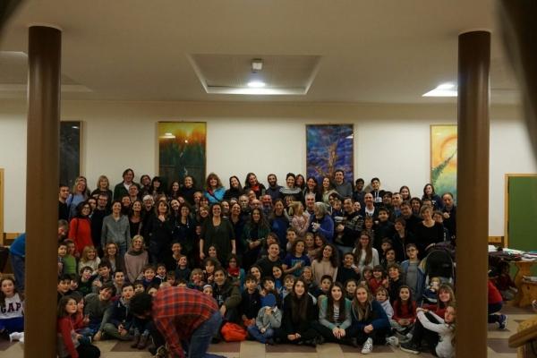 foto di gruppo Alpe Motta