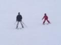 Chamois-C'è chi scia per la prima volta...